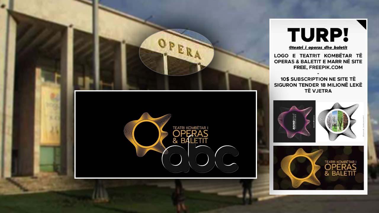 SKANDALI/ Teatri i Operas dhe Baletit, 1.8 milion lekë për logo të vjedhur. Reagon Margariti