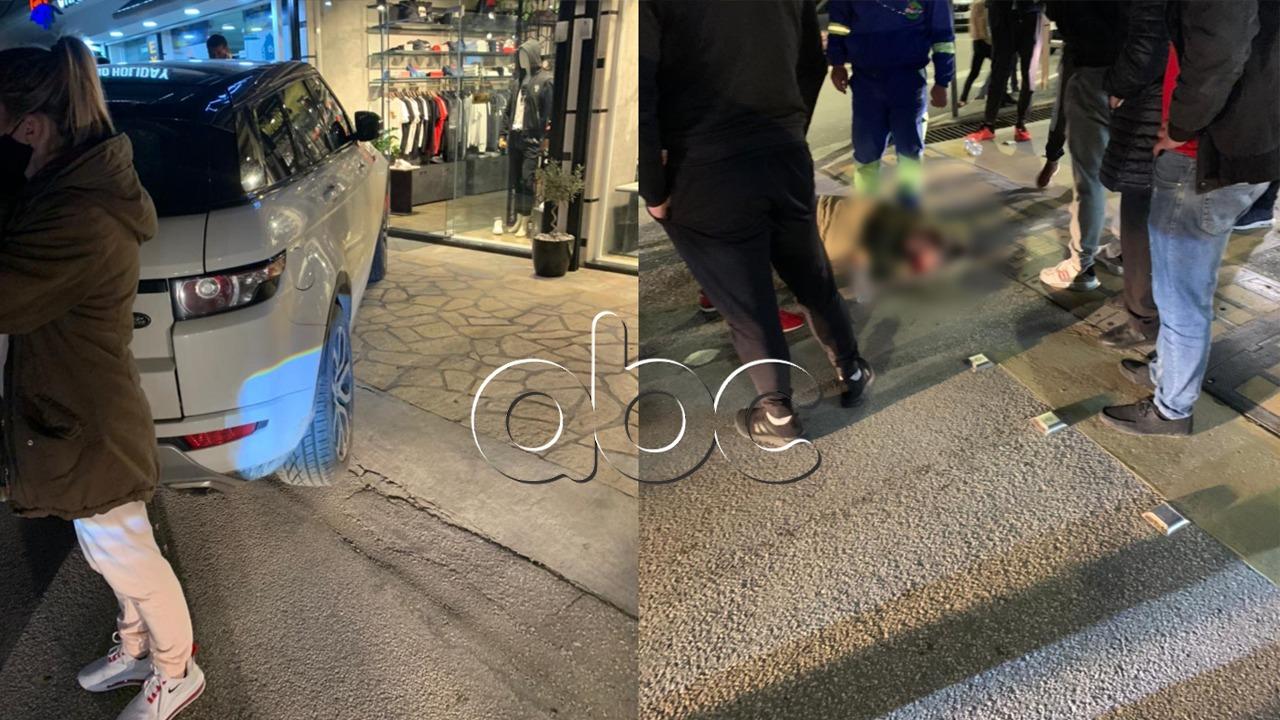 """Aksident në Sarandë, """"Range Rover-i"""" përplas një vajzë"""