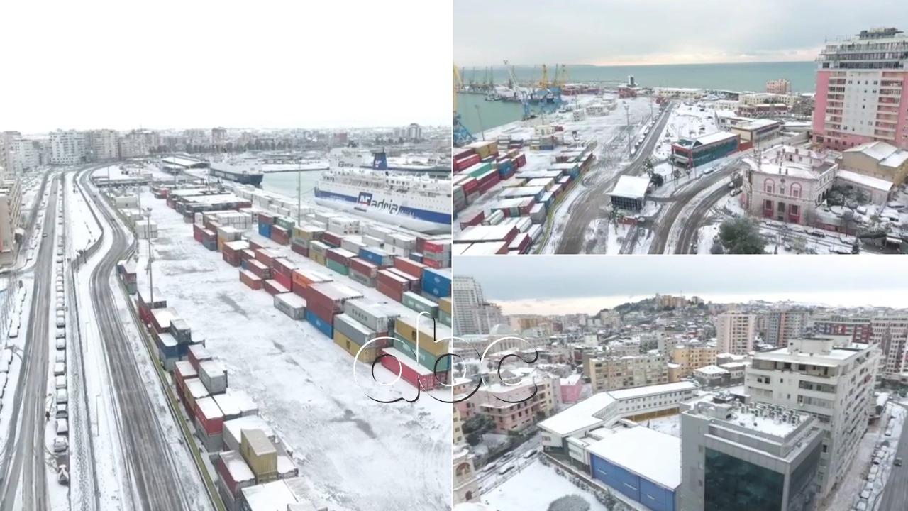 Durrësi i bardhë, panoramë mahnitëse nga porti më i madh i vendit