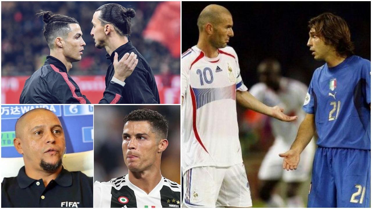 """Pirlo te Juve si Zidane te Real Madrid. CR7? Me i fortë se Ibra e Lukaku"""