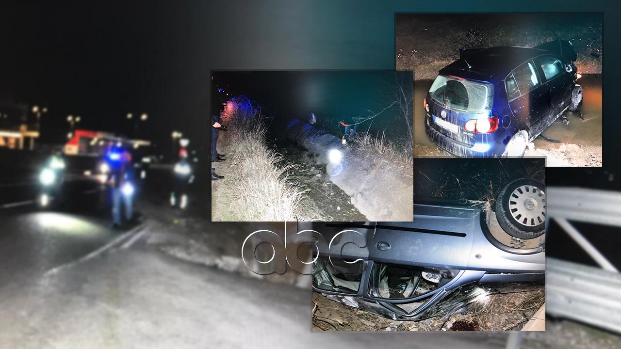 Automjeti del nga rruga në aksin Laç-Patok, humb jetën 22-vjeçari