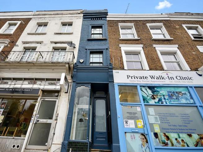 Shtëpia më e vogël në Londër në shitje për 1 milion euro