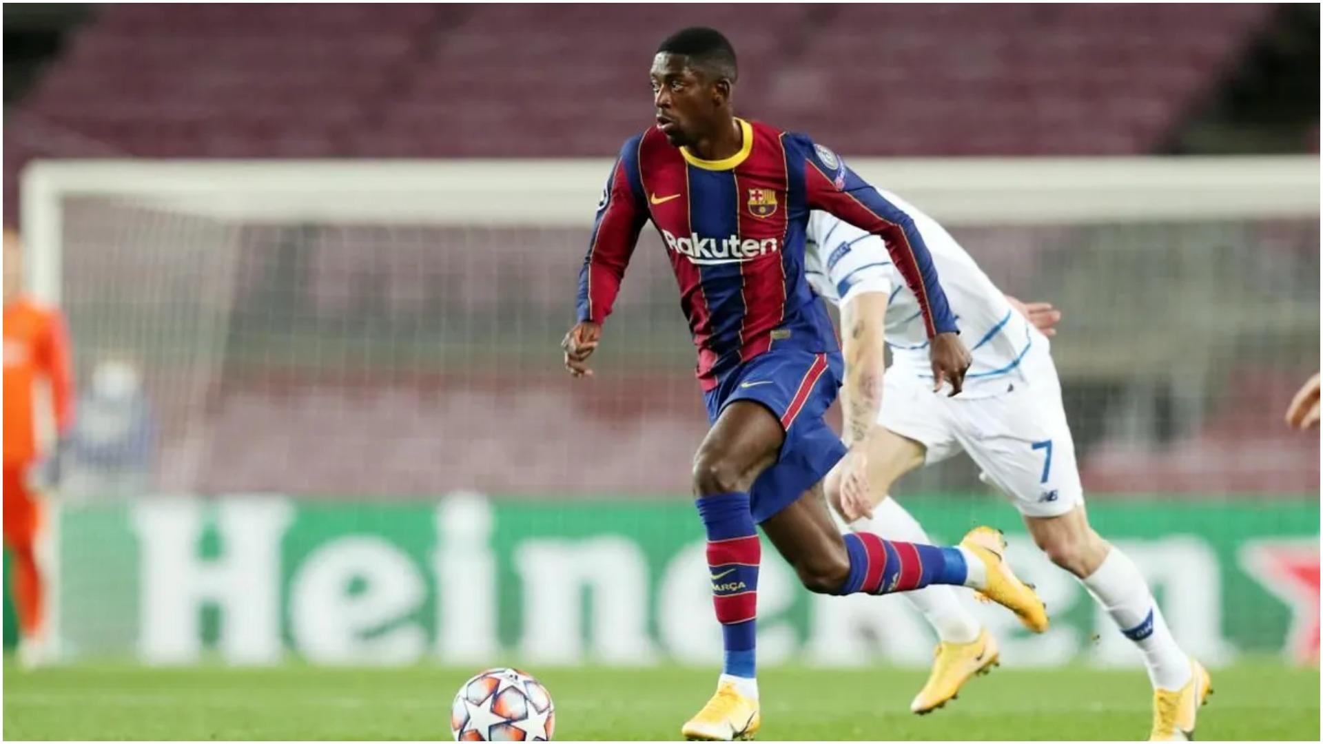 U tha se nuk pranon rinovimin, Barcelona reagon për Dembele