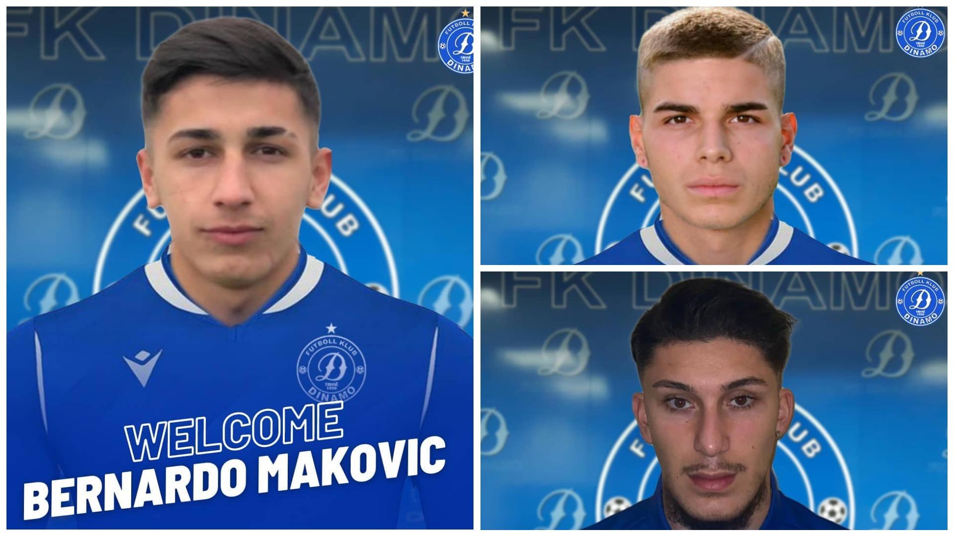 Merkato në Zvicër dhe Itali, Dinamo zyrtarizon 3 afrimet e fundit