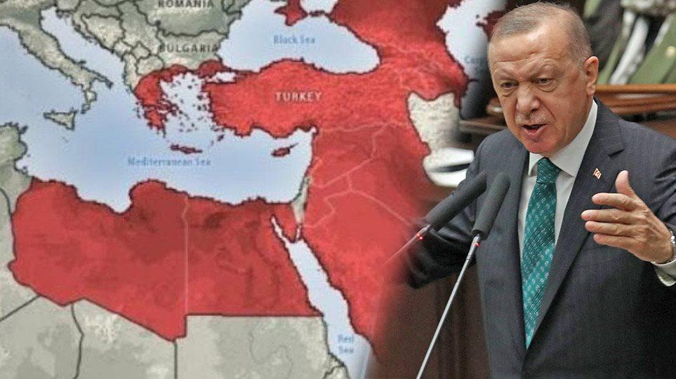 """Harta e """"CIA-s në hije"""" trondit Greqinë dhe Rusinë: Zonat ku do të forcohet ndikimi i Turqisë"""