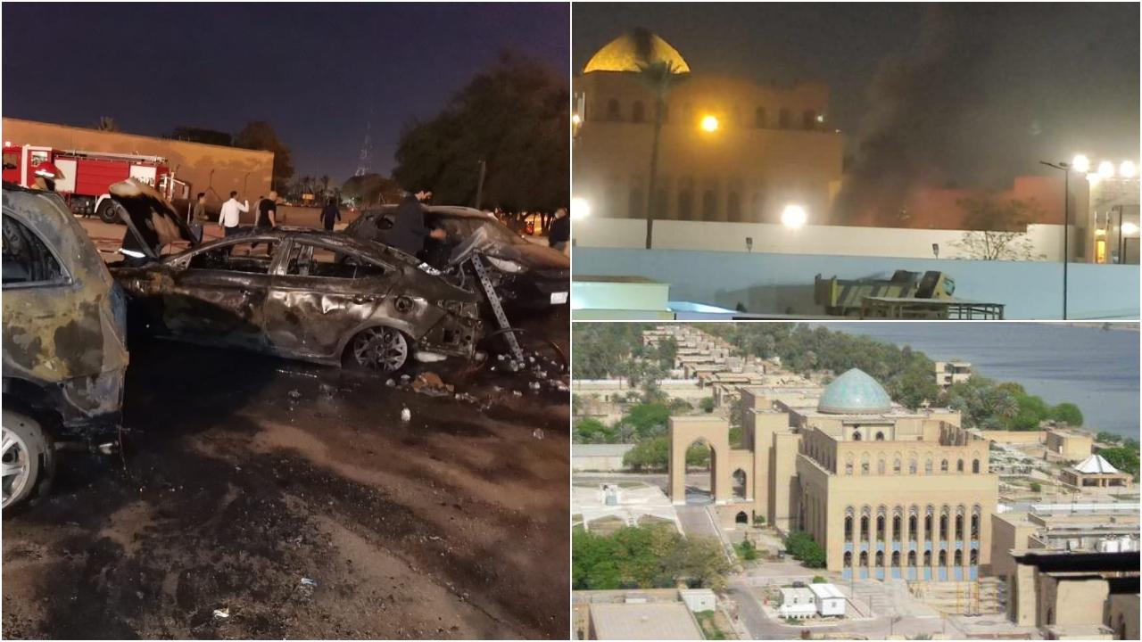 Sulmohet me raketa ambasada amerikane në Bagdad