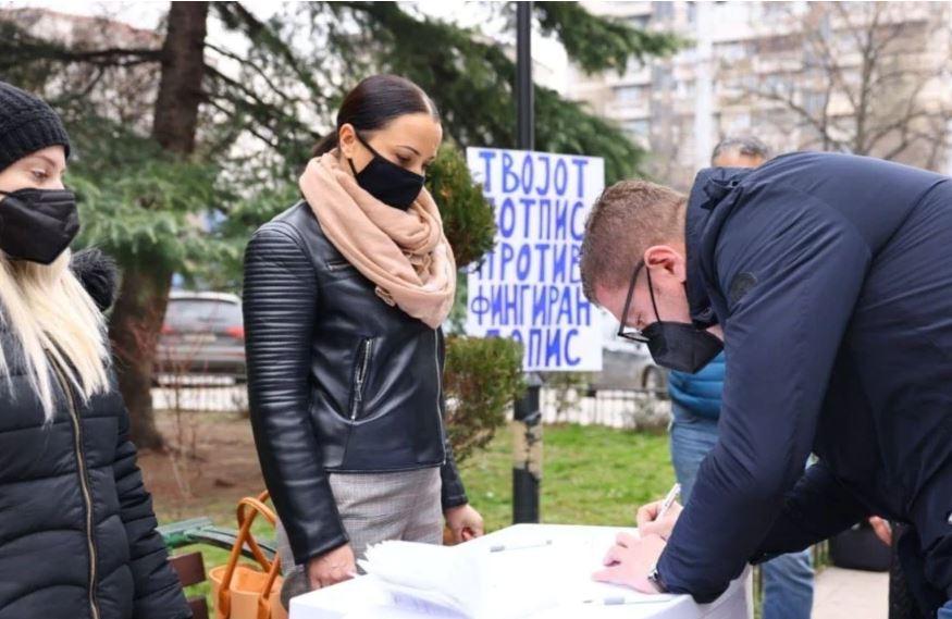 Opozita maqedonase mbledh nënshkrime kundër regjistrimit të popullsisë
