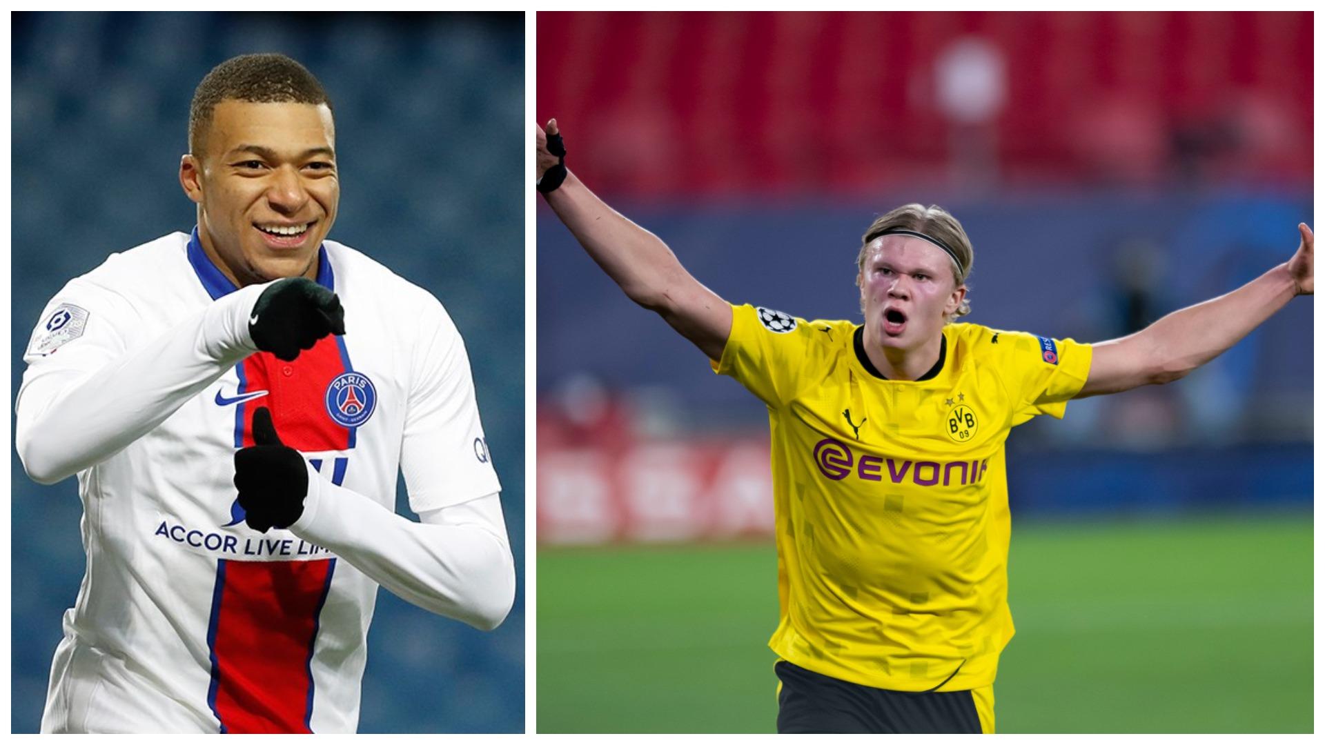 """Mbappe """"tris"""" Barçës, Haaland: Golat e tij më shtuan inatin"""