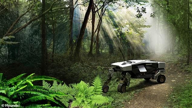 """TIGER X-1 me """"këmbë"""", makina që ecën aty ku nuk mund të ngasë"""