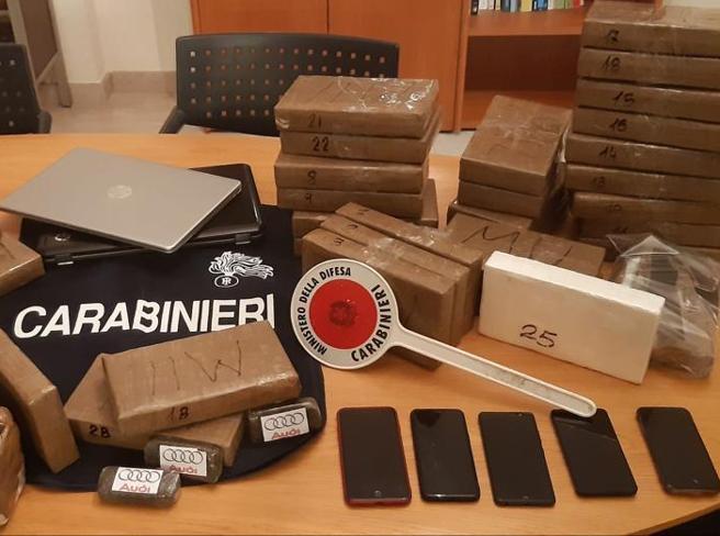 Flinte mbi 3 mln Euro, adoleshenti shqiptar çudit italianët: 2 valixhe plot me kokainë