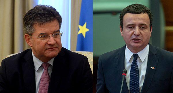 Dialogu me Serbinë, Lajçak pritet të vizitojë Kosovën për të takuar Kurtin