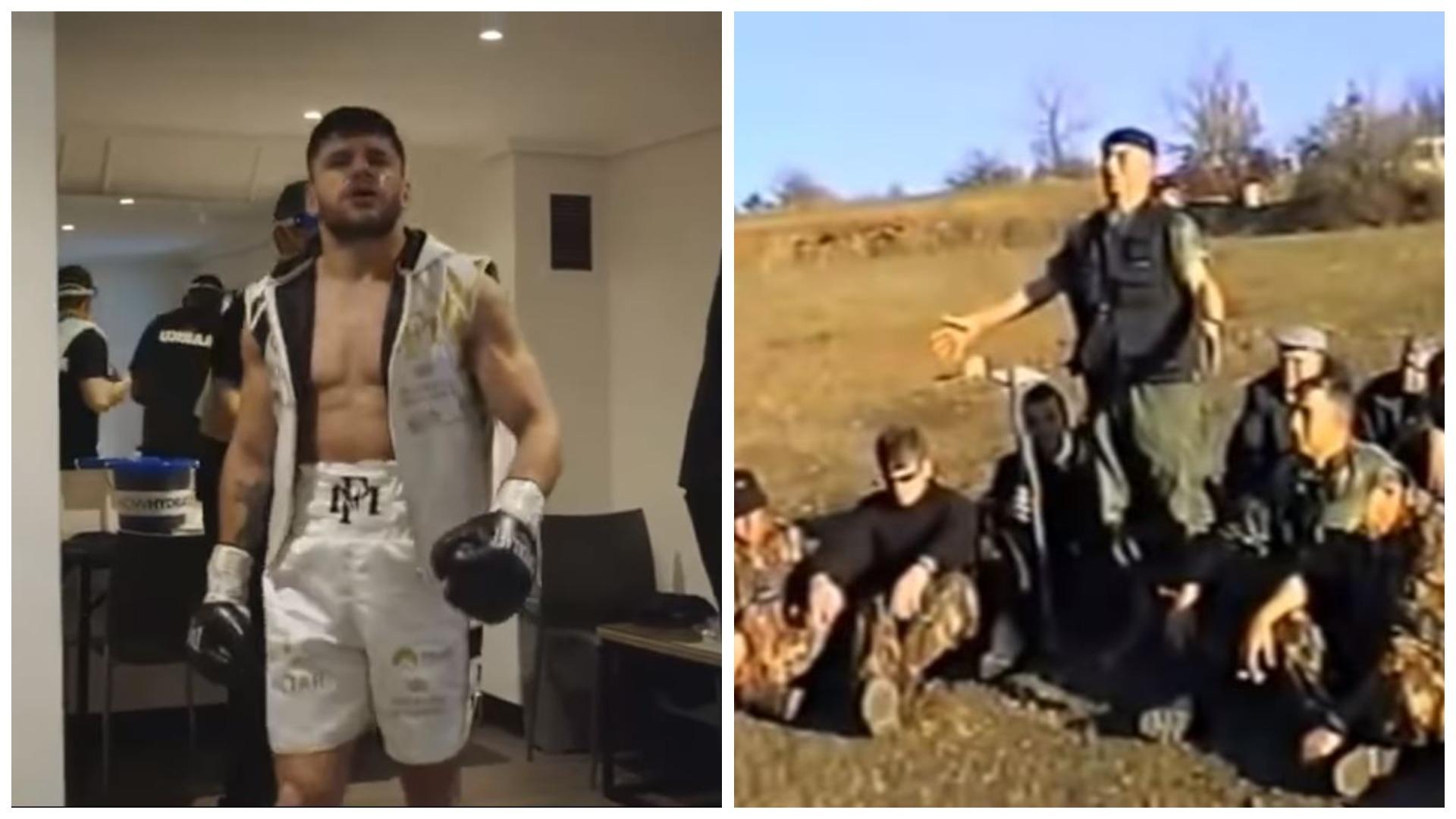 "VIDEO/ ""Po na pret veni shprese"", ushtari dardan motivoi Markun para ndeshjes"
