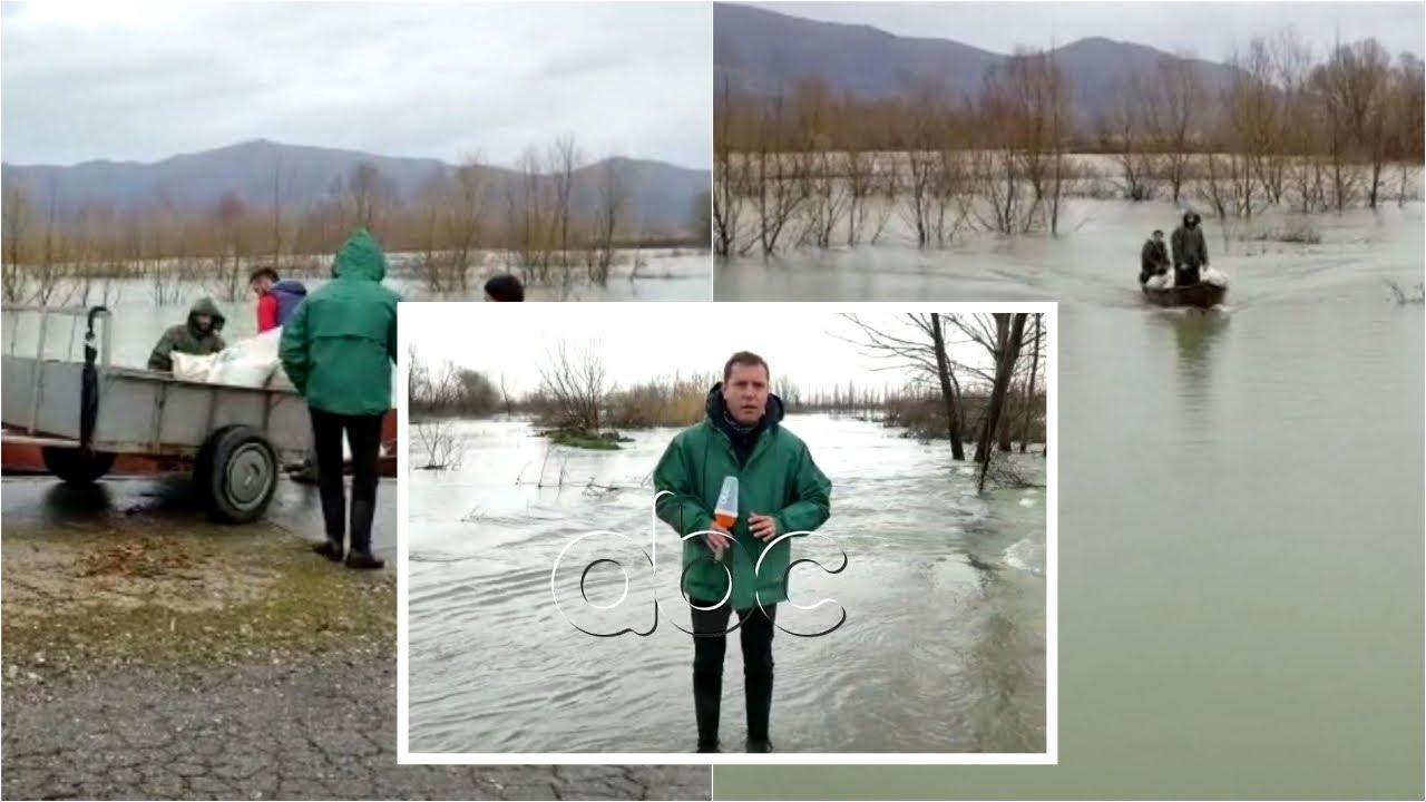 Banorët e Dajçit prej një muaji të bllokuar për shkak të përmbytjeve, lëvizet vetëm me varkë