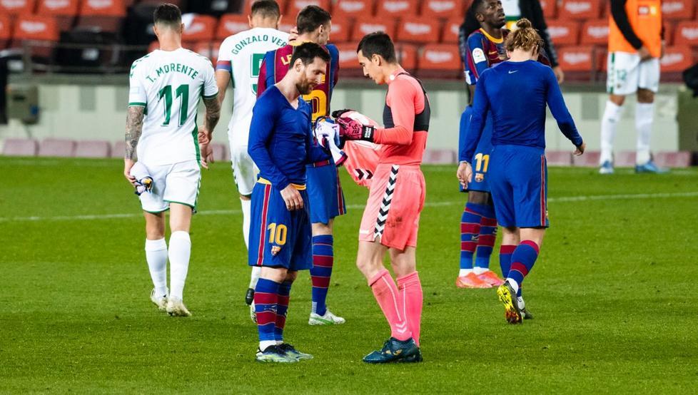 """""""U habita kur më kërkoi fanellën"""", portieri i Elche rrëfen sikletin me Messin"""