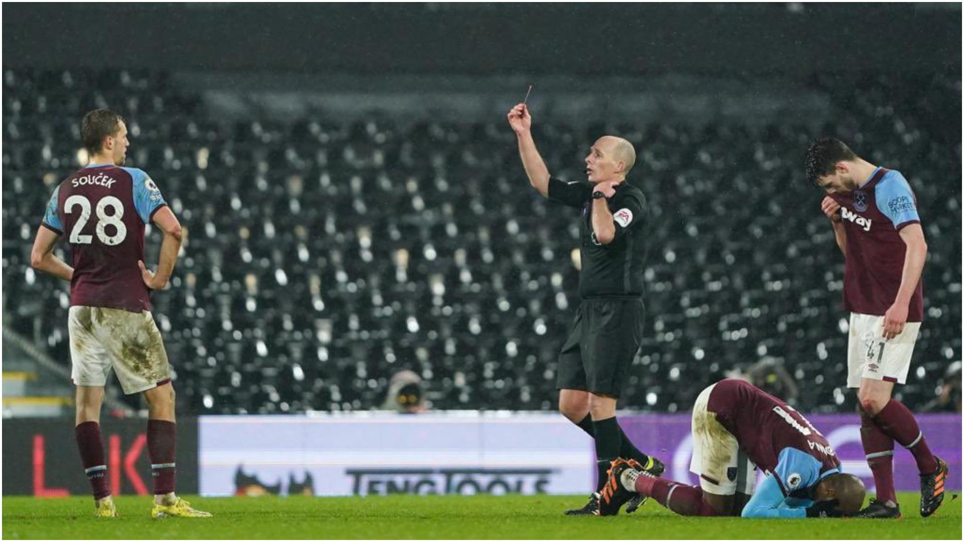 Kthehet kartoni ndaj Soucek, Dean kërkon të mos gjykojë në Premier League
