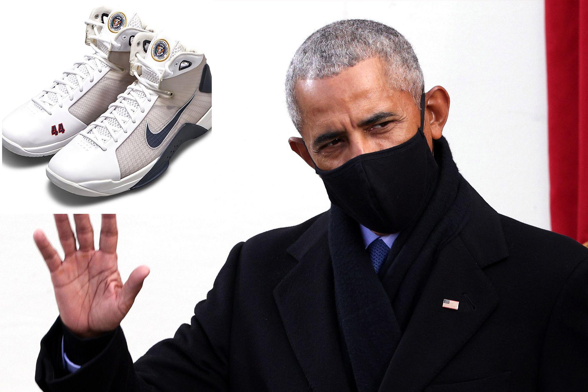Atletet e dizajnuara në nder të Obamës, kapin vlerën 25,000 dollarë!
