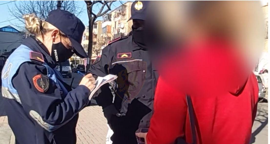 Nuk mbanin maskë dhe shkelën orën policore, ndëshkohen 1181 qytetarët e pabindur