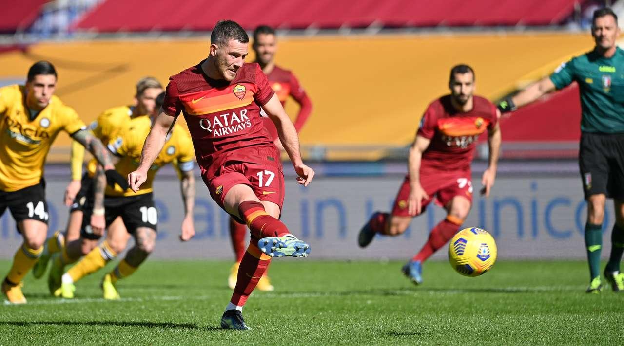 VIDEO/ Kumbulla jashtë, Roma mposht Udinesen pa talentin kuqezi