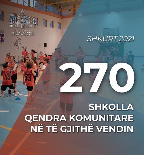 Kushi: 270 shkolla qendra komunitare, hapësira të shëndetshme për aktivizimin e të rinjve