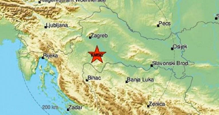 Tërmet me magnitudë 4,1 në Kroaci