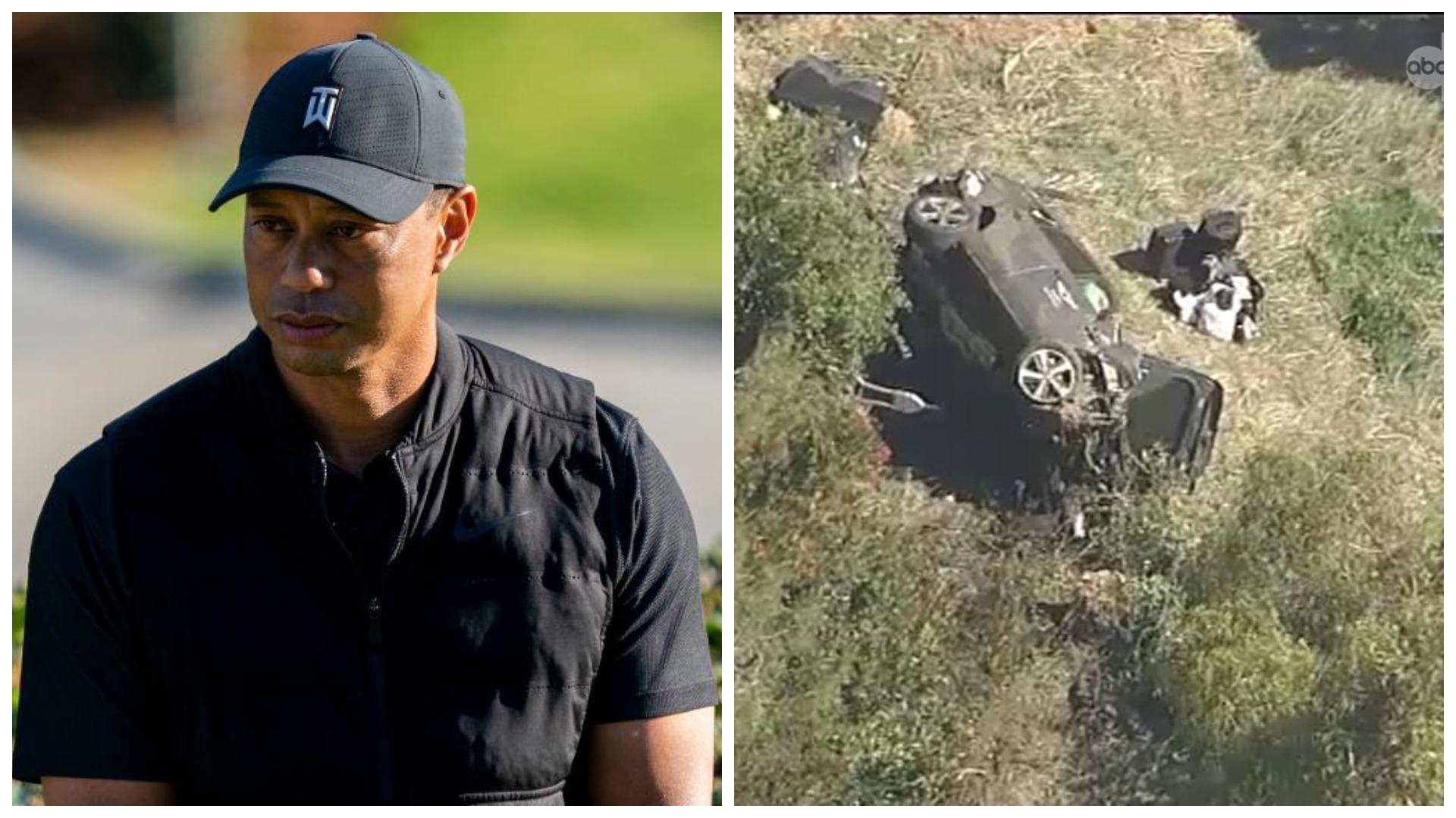 Pësoi aksident të frikshëm me makinë, Tiger Woods: Nuk mbaj mend asgjë!