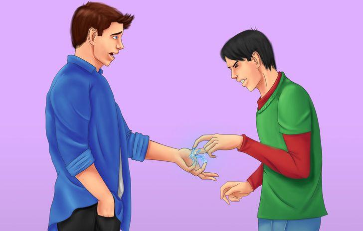 Pse ndjeni herë pas here goditje të lehta elektrike kur prekni dikë a diçka