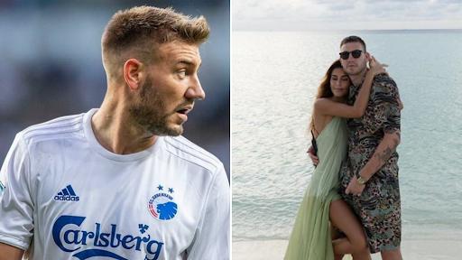 """""""Lord"""" Bendtner është me fat, e dashura e tij është thjesht """"wow"""""""