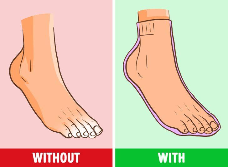 Pse duhet të vishni çorape të ngrohta natën