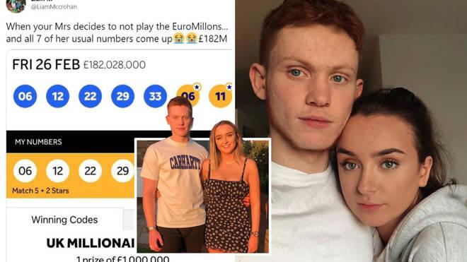 Studentja qëlloi numrat e lotarisë prej 182 milionë dollarë, por kishte harruar të blinte biletën