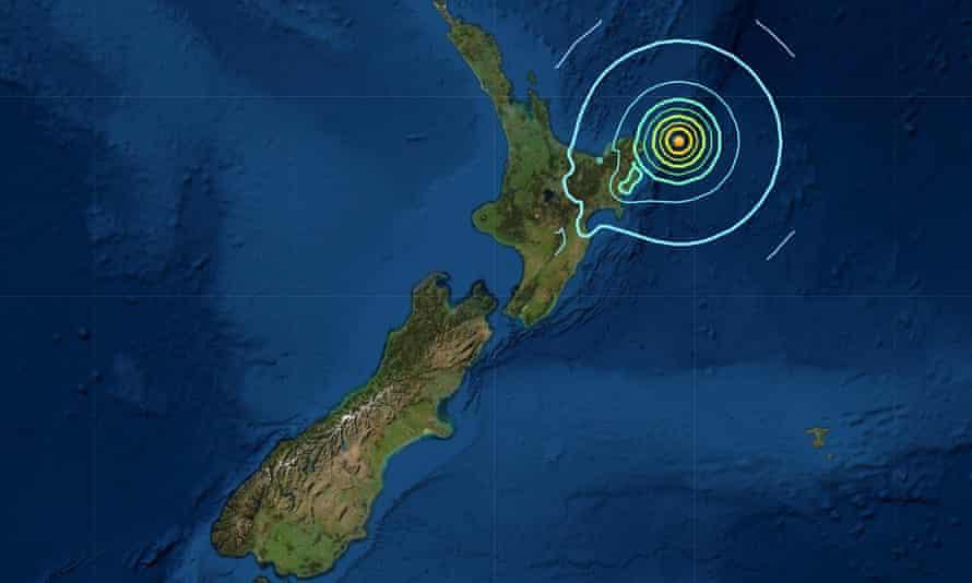 Zelanda e Re tronditet nga tërmeti me magnitudë 7.3 Rihter, paralajmërim për një tsunami