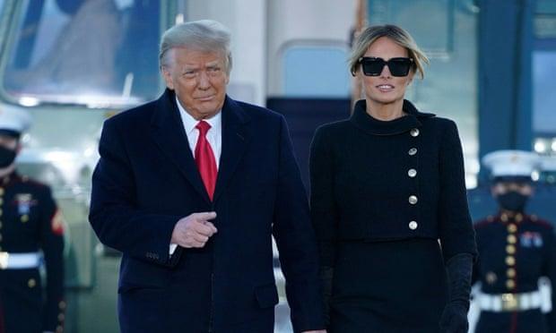Donald dhe Melania Trump janë vaksinuar para largimit nga Shtëpia e Bardhë