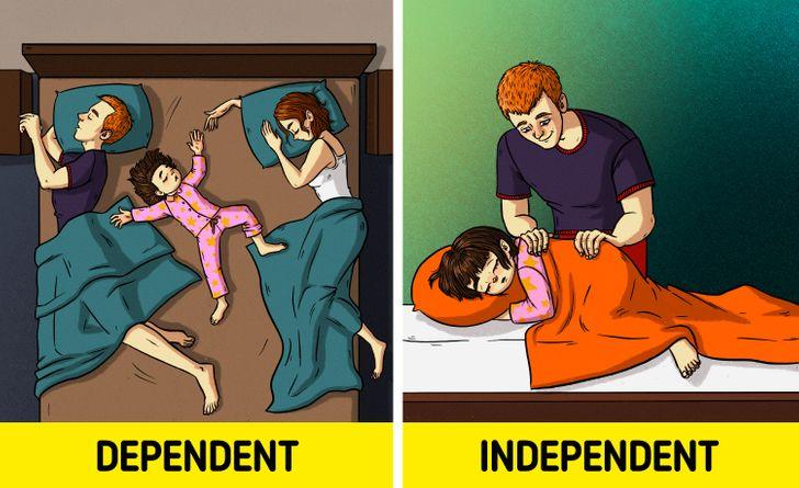 Çfarë të bëni nëse fëmija juaj ka makthe gjatë natës