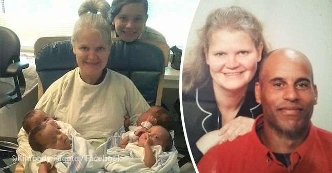 Mendonte se nuk bënte fëmijë, gruaja lind katërnjakë në moshën 42-vjeçare