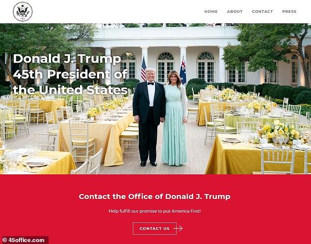U bllokua në rrjete sociale, Trump gjen zgjidhjen për të qenë pranë mbështetësve