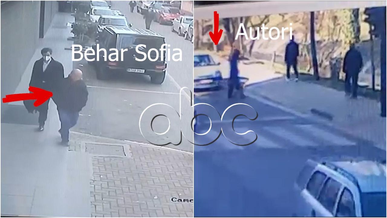 """VIDEO/ Hapat e fundit të Behar Sofisë, si e ndjek ekzekutori duke u hequr si """"çalaman"""", i kalon ngjitur"""