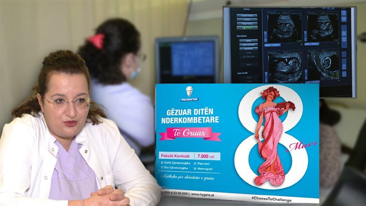 Mjekja gjinekologe apel grave: Kryeni vizita një herë në vit