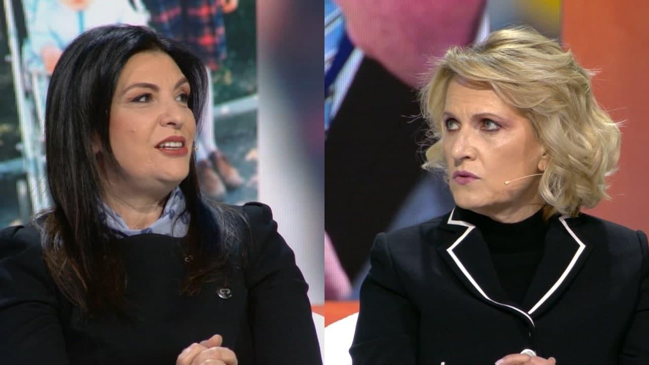 """Mimi Kodheli dhe Jozefina Topalli bëjnë """"fjalimet e jetës"""" dhe nuk janë aspak si ato që dëgjojmë në Parlament"""