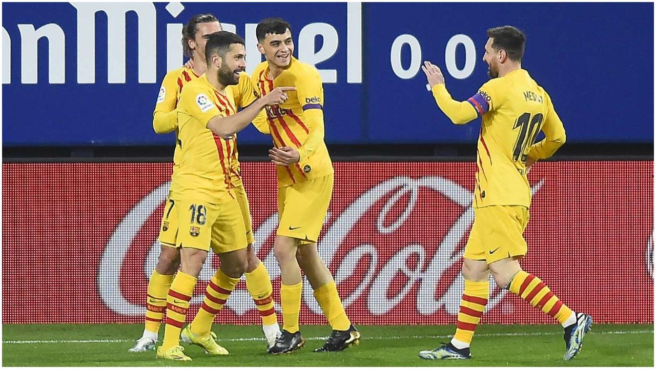 """VIDEO/ Tetë fitoret radhazi larg """"Camp Nou"""", Barcelona vetëm 2 pikë larg kreut"""