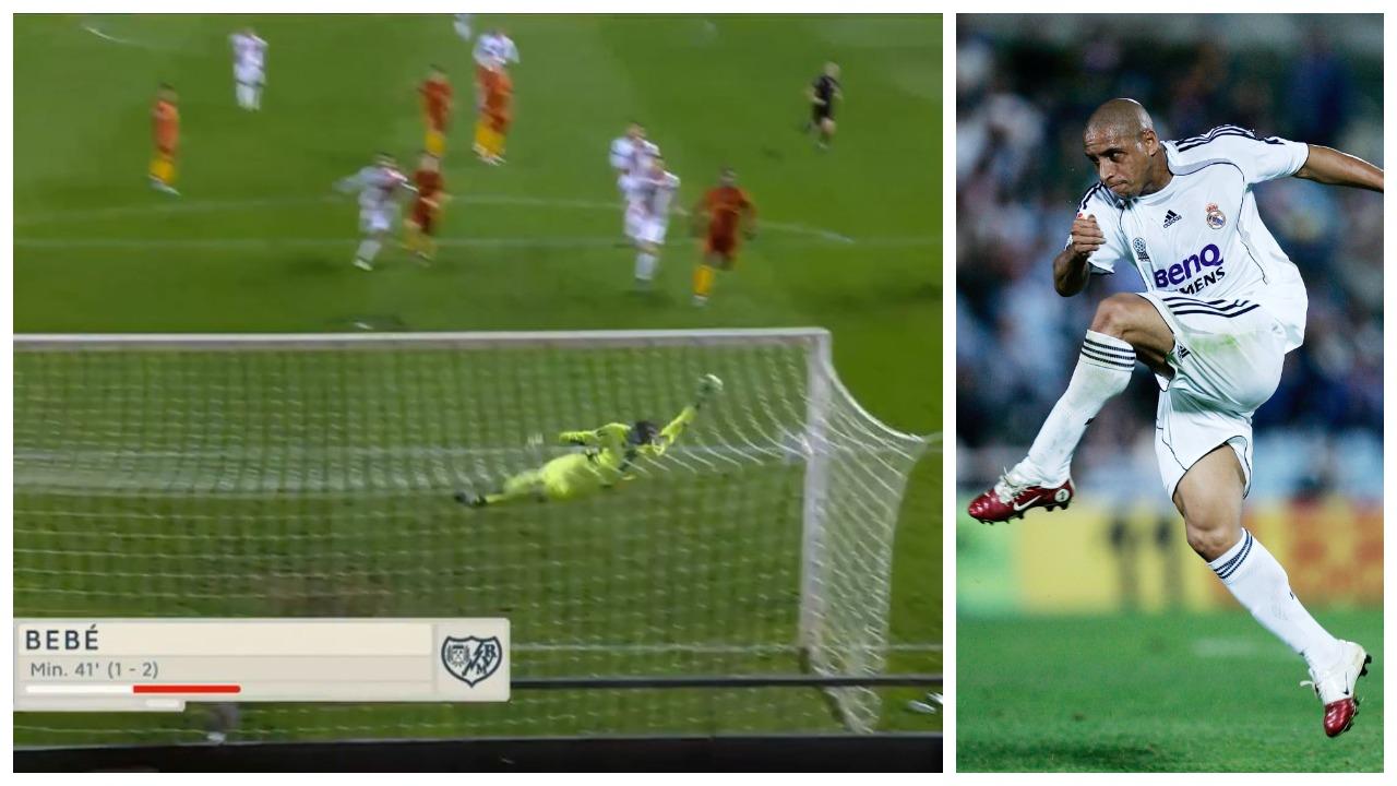 VIDEO/ Gol si Roberto Carlos dikur, portugezi Bebe mahnit spanjollët