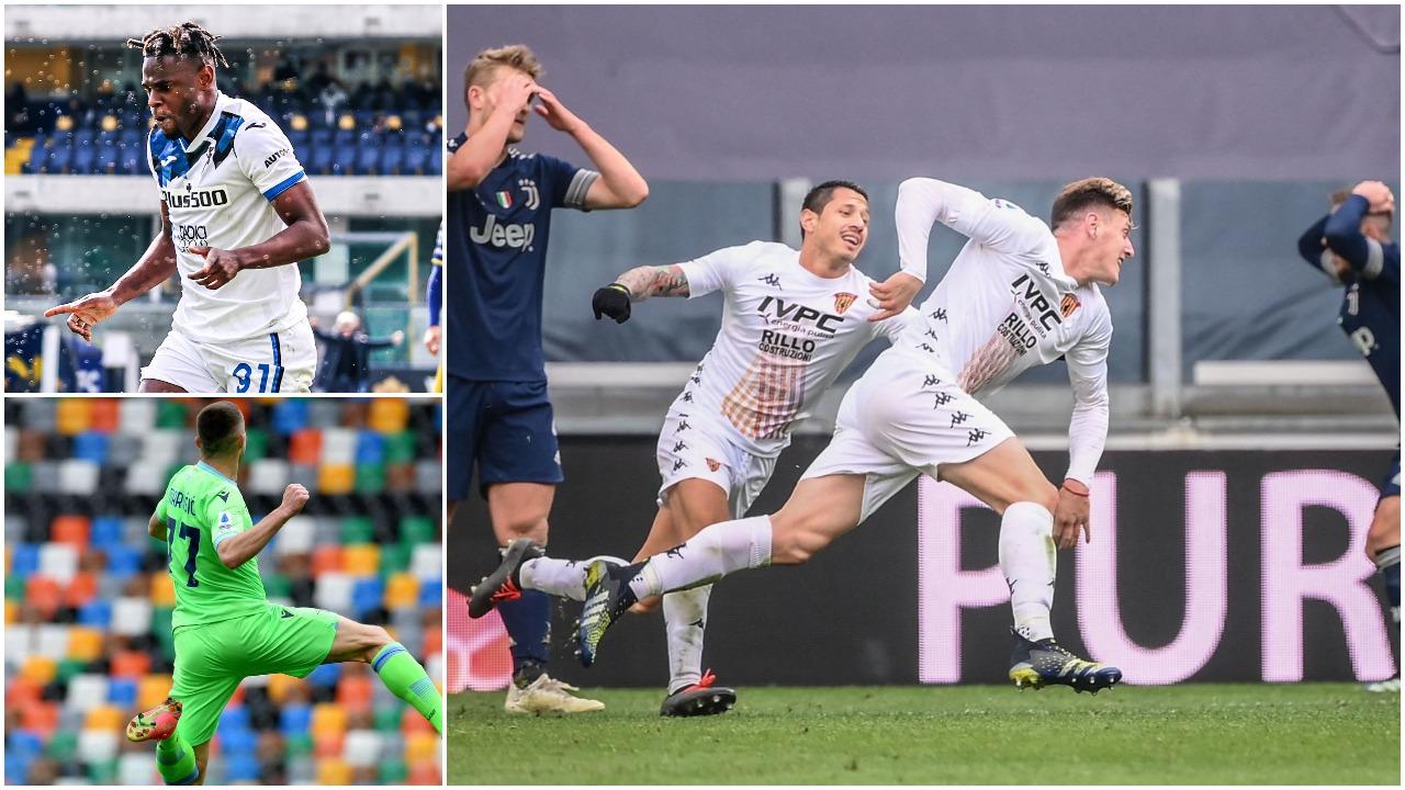 """VIDEO/ """"Shtrigat"""" e Inzaghit shkurorëzojnë Juven, festojnë Atalanta dhe Lazio"""
