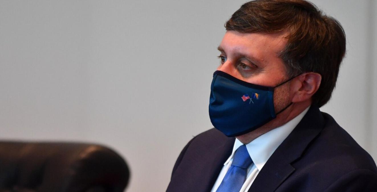 Dialogu Kosovë-Serbi dhe pandemia, Palmer takim virtual me Avdullah Hotin dhe Vjosa Osmanin