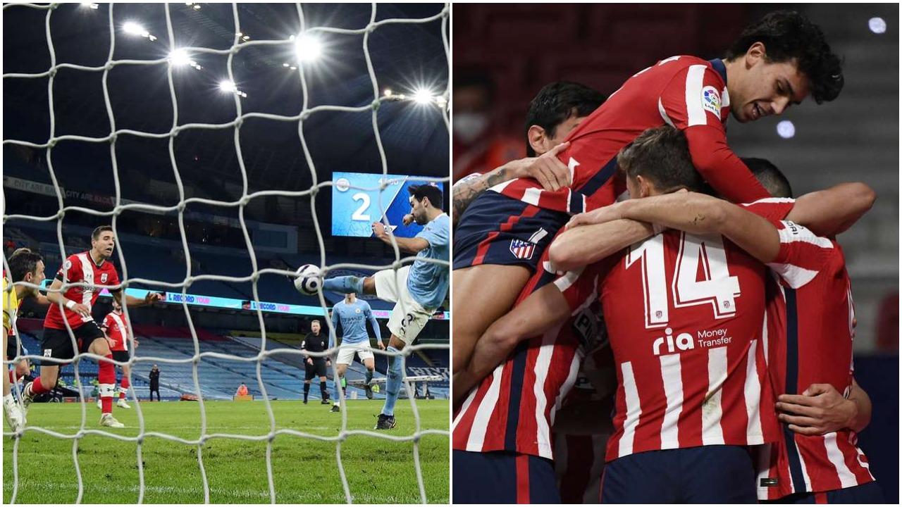 """VIDEO/ """"Manita"""" e Manchester City, Atletico triumfon me përmbysje në Spanjë"""