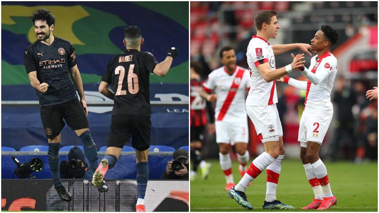 """VIDEO/ Dy """"krisma"""" në fund, City dhe Southampton në gjysmëfinalet e FA Cup"""