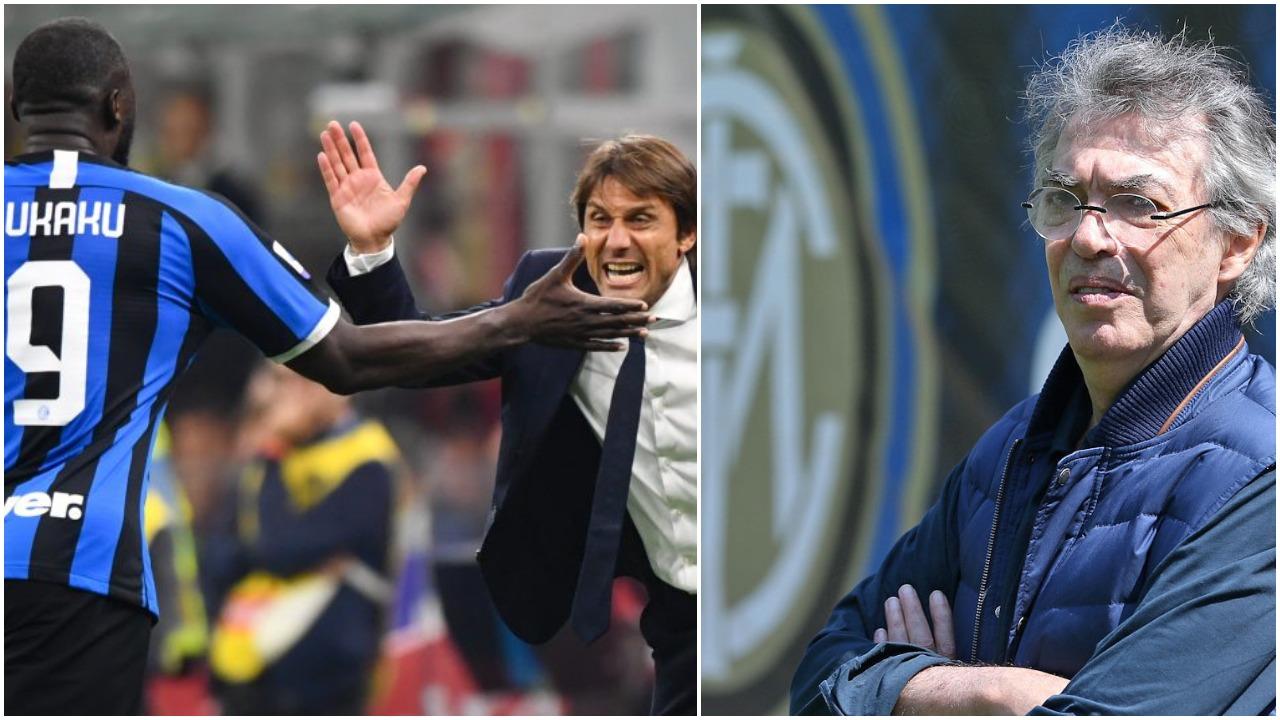 Moratti: Conte më shumë se trajner. Lukaku? I zgjuar, s'e dija kaq të fortë