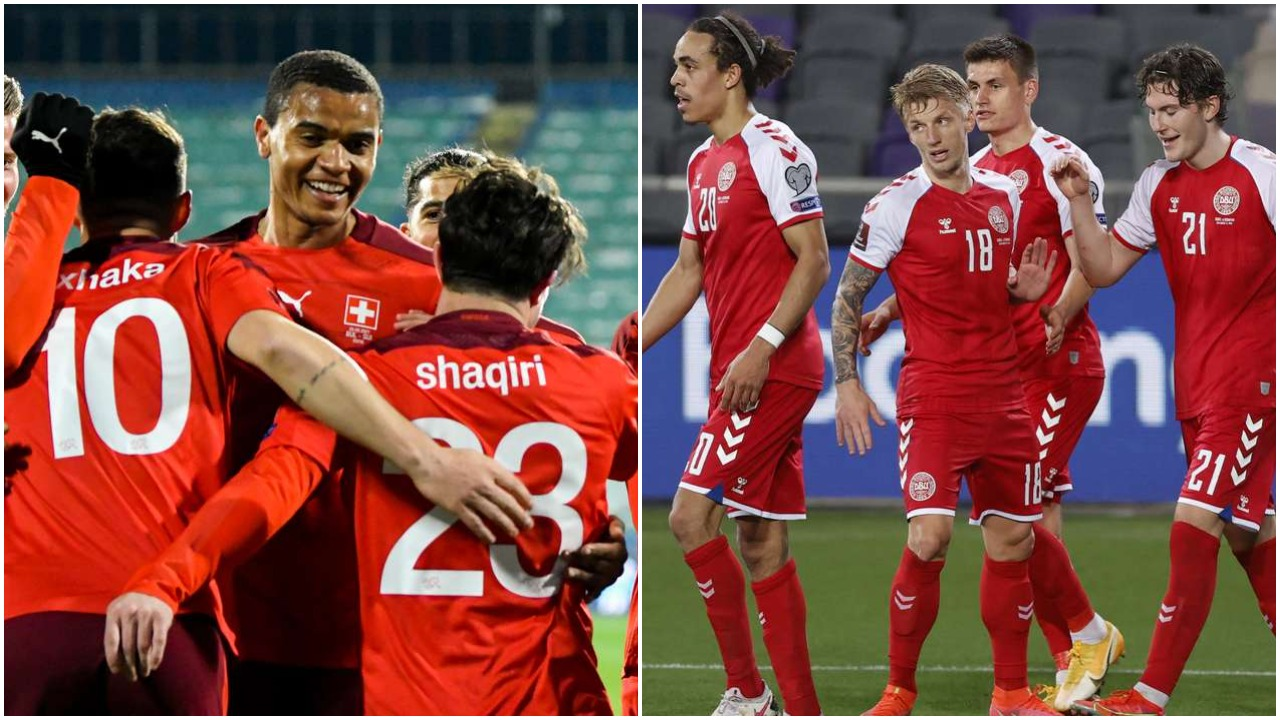 VIDEO/ Suksese në transferta, Zvicra dhe Danimarka marrin fitoret e para