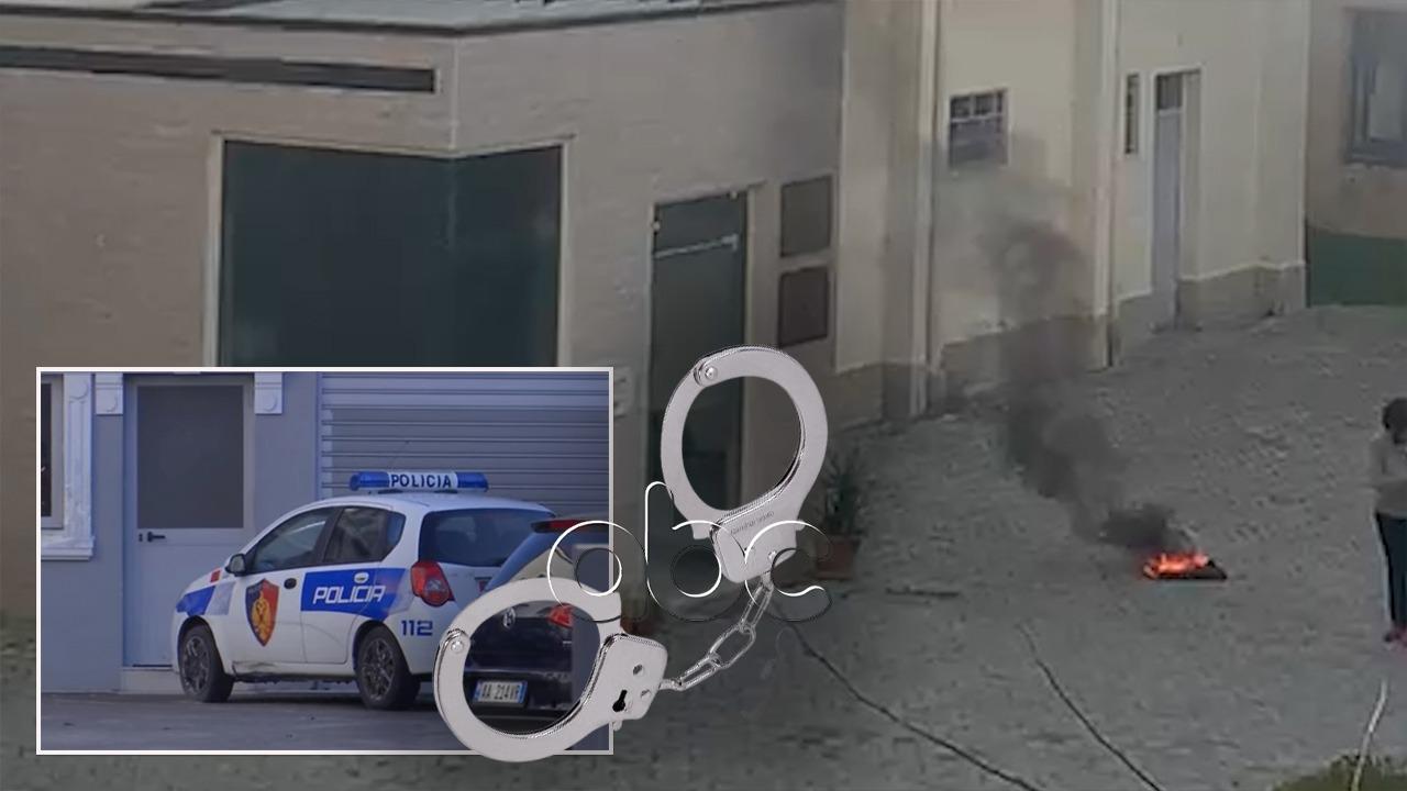 Nuk fitoi në portal, fieraku spërkat me benzinë dhe i vendos zjarrin drejtorisë arsimore