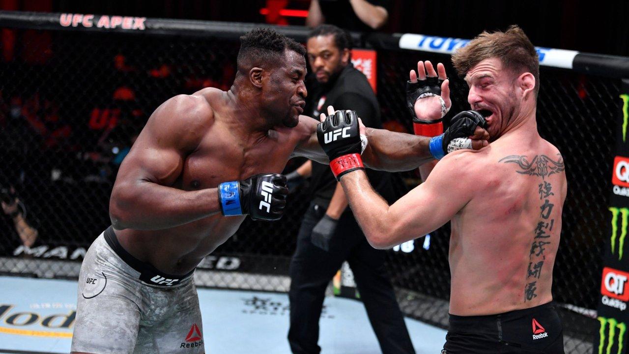 VIDEO/ Ngannou kampioni i ri i botës në UFC, hakmerret keq ndaj Miocic