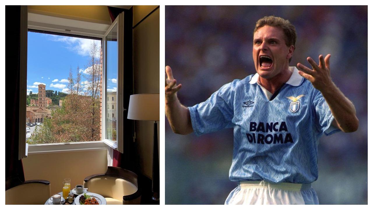ANEKDOTA E DITËS/ Legjenda Gascoigne, si i bëri truprojës rrengun epik kur e bleu Lazio