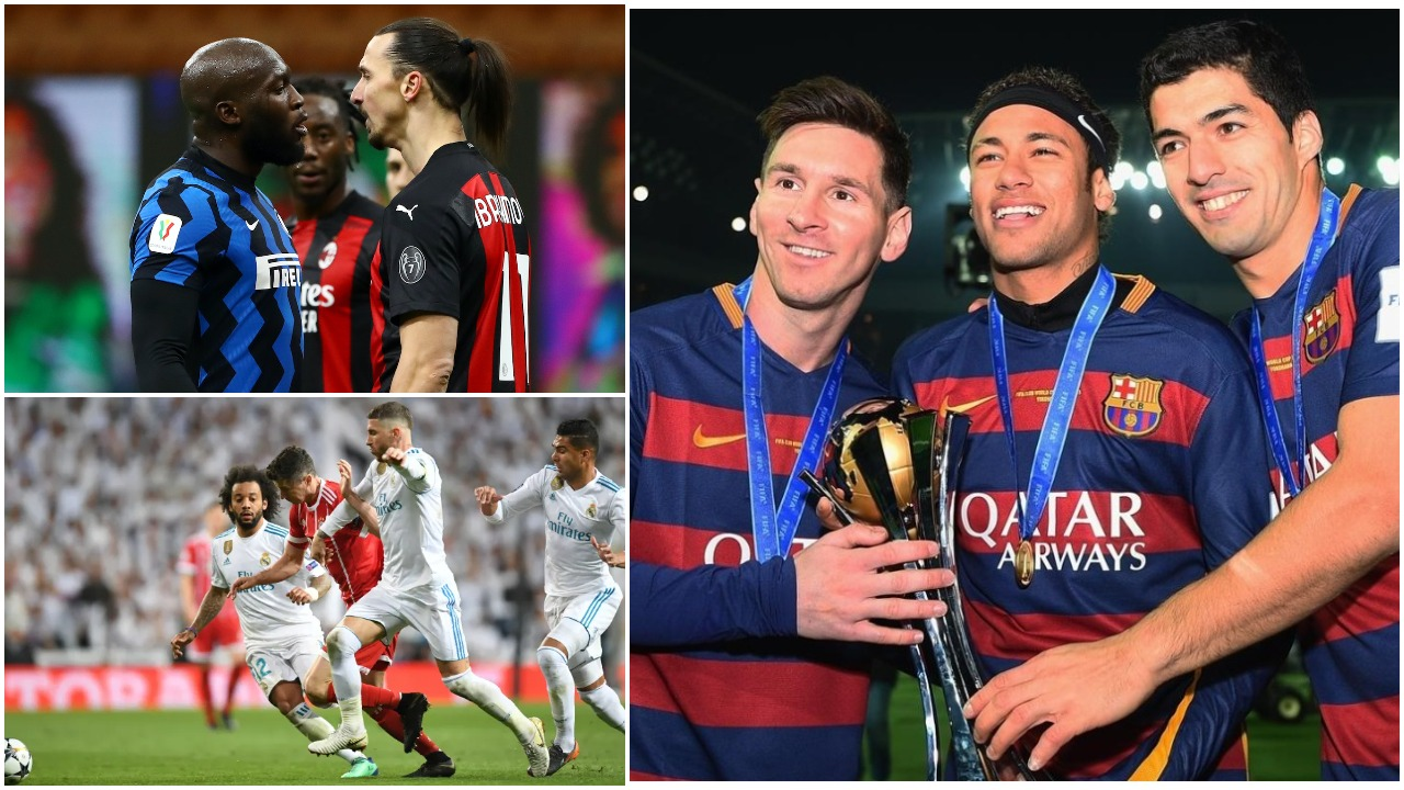 """10 ekipet e dekadës: Barcelona dominon sërish, Interi dhe Milani """"pikiatë"""""""