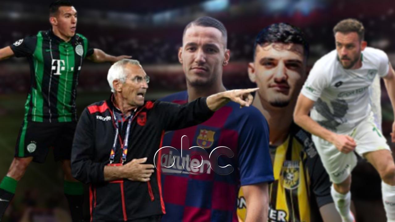 """20 gola kuqezi në vitin 2021, goleadorët e Shqipërisë """"presion"""" Rejës"""